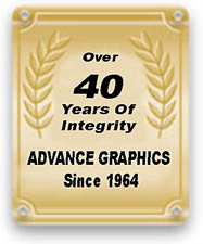 Advance Graphics 40 Years